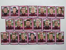 alle 20 Panini Bilder/Sticker vom EM-Team Dänemark EURO 2012