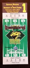 1997 USF Bulls Football first game commemorative ticket South Florida