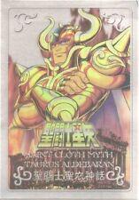 Bandai Saint Seiya Cloth Myth Metal Plate Gold NEW Taurus Aldebaran