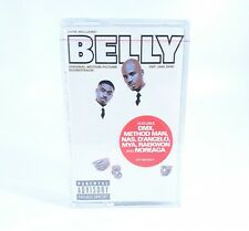Belly Soundtrack Cassette Tape DMX Raekwon Wu Tang Clan Jay Z Hip Hop Rap Rare