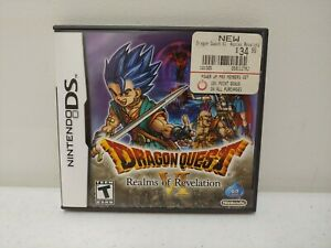 Dragon Quest VI Realms of Revelation RPG - Nintendo DS {USED/COMPLETE}