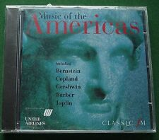 Classic FM Music of The Americas inc Gershwin Rhapsody in Blue + New Mint CD