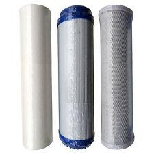 Hma cartouche filtrante fixés pour la réduction de métaux lourds y compris kdf / gac de filtre