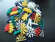 Knex K'Nex Over 75 Pieces Parts Job Lot Construction Set Craft Toy Next Easter
