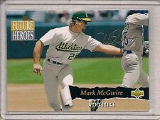 1993 Upper Deck Future Heroes Mark McGwire #60 of 63