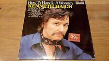 "How To Handle A Woman - Kenneth Haigh - 12"" vinyl LP album"