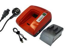 powersmart 7.2-18v Cargador de Batería para Hitachi 319805 319807 eb2430ha, Rojo