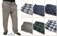 NAUTICA Men's Soft Fleece Pajama Pants Sleepwear Bottom PJ Sleep Lounge Plaid