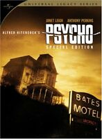 Psycho (DVD, 2008, 2-Disc, Special Edition Universal Legacy Series) Steel Case