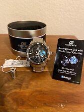 Casio EDIFICE EQB-600D-1A2JF Bluetooth Sport Solar Men Watch EQB-600D-1A2 F/S