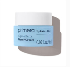 NIB PRIMERA Alpine Berry Water Cream (Hydrate & Glow) Sample Size 5mL/.16oz