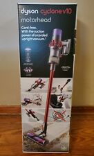 Dyson V10 Cyclone Motorhead Red Cordless Stick Vacuum Cleaner, New, Open Box