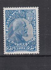 Liechtenstein Nr. 3 y a, **, Fingerabdruck