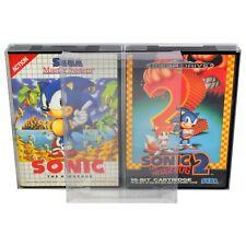 10 x GP15 Mega Drive / Master System Game Box Protectors For Sega 0.4mm PET Case