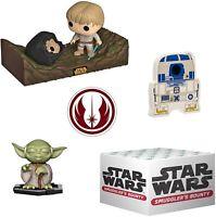 Funko Star Wars Smugglers Bounty Dagobah Luke Skywalker 284 Yoda Mini Funko Pop