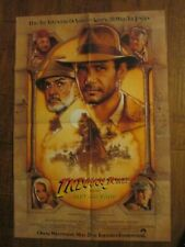 Indiana Jones And The Last Crusade - Original 1sheet Poster- Connery - Ford