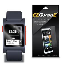 4X EZguardz New Screen Protector Cover HD 4X For Pebble 2