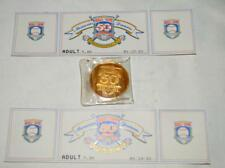 50th Cooperstown Baseball Hall of Fame Tickets and Gold Coin 1939-1989 ~145