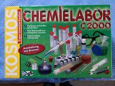 Chemielabor C 2000, Chemie-Labor C2000, KOSMOS Experimentierkasten, mit Brenner
