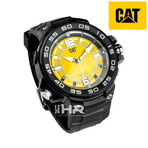 Men's Caterpillar CAT 45mm Black Watch P3.160.21.731