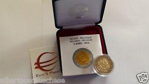 2 euro 2012 BE proof PP BELGIO Belgique Belgium Belgica Belgien EMU UEM COM TYE