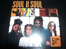 Soul II Soul 5 CD Australian Club Classics Vol 1, A New Decade, Just Right, Beli