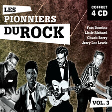 4 CD F. Domino Little Richard Jerry L Lewis Chuck Berry