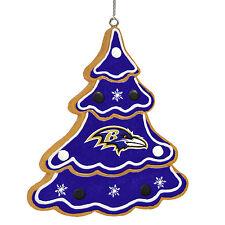Baltimore Ravens Gingerbread Tree Christmas Tree Xmas Ornament NEW - TREE