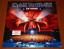 IRON MAIDEN EN VIVO LIVE 2x LP PICTURE DISC VINYL *LTD* EU UK PRESS 2012 EMI New