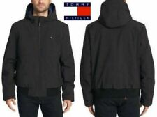 New Tommy Hilfiger Mens Soft-Shell Bomber Jacket with...