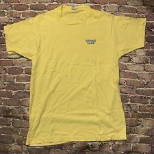 Vintage 90's Single Stich Grand Club Sports Nutrition Shirt