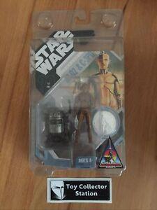 STAR WARS - 30th - CONCEPT R2-D2 & C-3PO - Hasbro - MOC - 2007