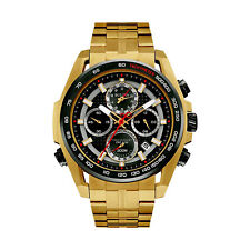 Bulova Precisionist Men's UHF Quartz Chronograph Gold-Tone 48mm Watch 98B271