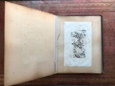 Rare Dated Signed Victorian Sketchbook / Scrap Album - Whistler Strange Allsopp
