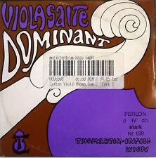 Thomastik Dominant Viola C Silber/Perlon Saite stark 139 - Lagerabverkauf