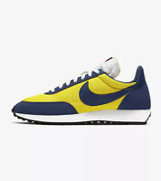 NIKE AIR TAILWIND 79 - YELLOW / NAVY BLUE / WHITE - 487754 702 - UK 8, 9, 10, 11