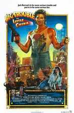 Big Trouble In Little China Poster 01 A2 Box Canvas Print