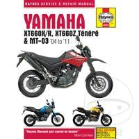 Yamaha XT 660 Z Tenere 2009 Haynes Service Repair Manual 4910