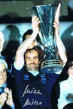 Firmato Mick Mills Ipswich Town finale di Coppa UEFA 1981 autografo foto