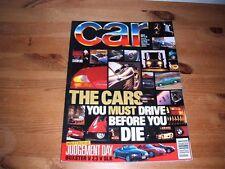 CAR MAGAZINE MAR-1997 - BMW Z3 2.8, SEAT Ibiza Cupra, Citroen Saxo VTR, Alfa 145