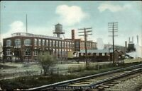 Elmira Heights NY Knitting Mills c1910 Postcard