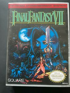 Final Fantasy 7 NES Box Only