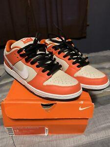 Nike SB Dunk Low Orange Box Sz 13 313170 811 Used