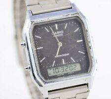 I843 Vintage Casio Analog Digital Quartz Watch AQ-230 Mod.1301 Original JDM 37.3