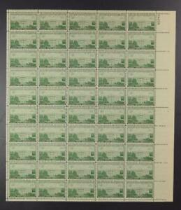 US SCOTT 990 SHEET OF 50 CAPITAL SESQUICENTENNIAL STAMPS 3 CENT FACE MNH