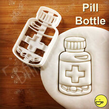 Pill Bottle cookie cutter | pharmacists medical chemist drugs pharmacy biscuit