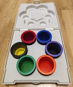 Zepter Bioptron color therapy 6 color lenses for Compact 3 and Medall lamps