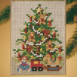 Old Fashioned Tree Bead Ornament Kit Mill Hill 2010 Festival of Trees