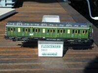 Fleischmann 5801 H0 Abteilwagen 1/2. Klasse der KPEV Preußen Epoche 1 sehr gut