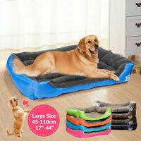 NEW Dog Cat Bed Kennel Puppy Cushion Mat Soft Warm Waterproof Pet House S-2XL